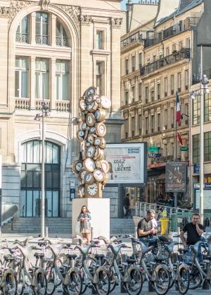 Pelas ruas de Paris
