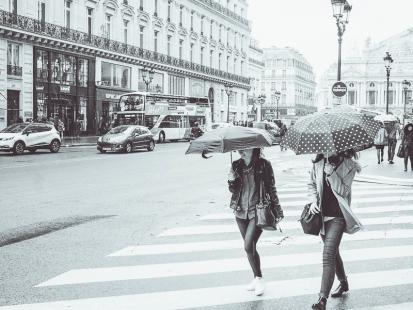 um dia de chuva